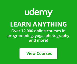 Learn Anything at Udemy!