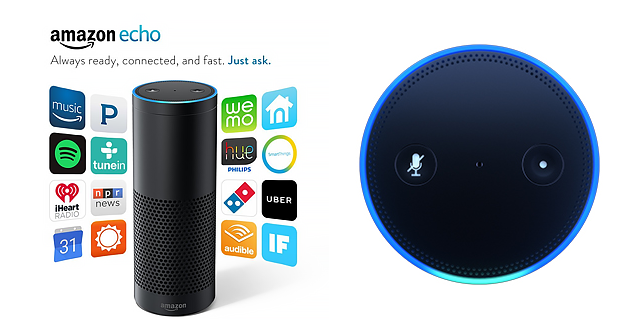 Amazon Echo. Echo Dot, and Amazon Tap
