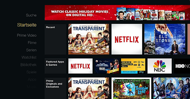 Change Your Amazon Fire TV Interface from German to English