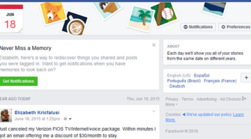QuickTip: On This Day in Facebook