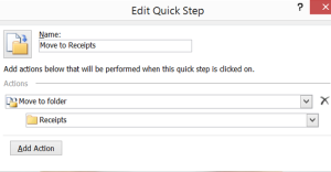 Microsoft Outlook Quick Steps