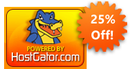 Get 25% Off All HostGator Web Hosting Packages!