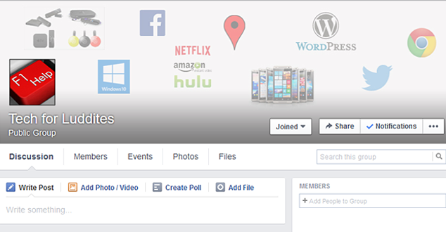 Join the New T4L Facebook Group to Ask Questions and Share Tips with Fellow Luddites