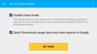 how to use chromecast in foxtel now