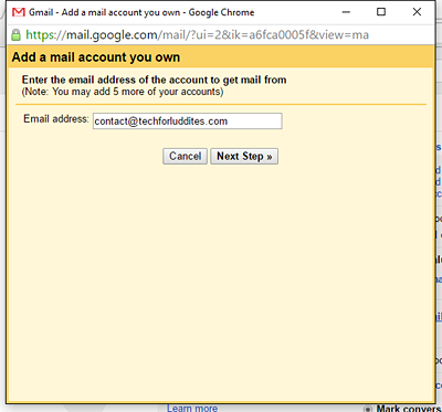 Send And Receive NonGmail Email From Gmail Tech For Luddites - Make own email