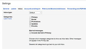 how to get mail from promotions to inbox in gmail