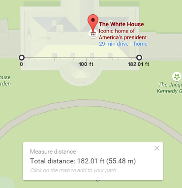 Measuring Distances in New Google Maps   Tech for Luddites