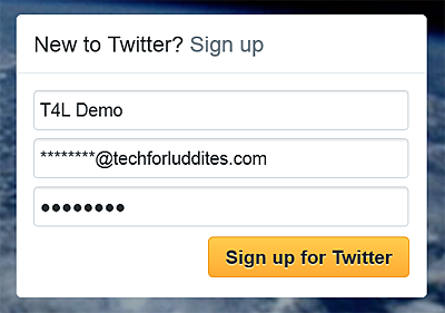 Getting Started on Twitter   Tech for Luddites