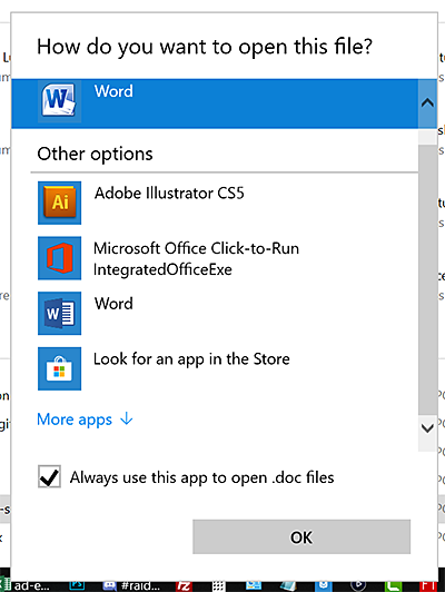 Windows 10: Change the Default Program for Opening Files | Tech for