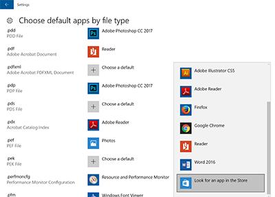 Windows 10: Change the Default Program for Opening Files