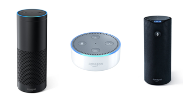 Amazon Echo, Echo Dot, Amazon Tap