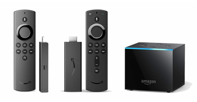 Amazon Fire TV Family of Streaming Media Players