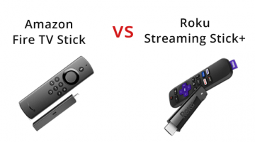 Amazon Fire TV Stick vs Roku Streaming Stick Plus