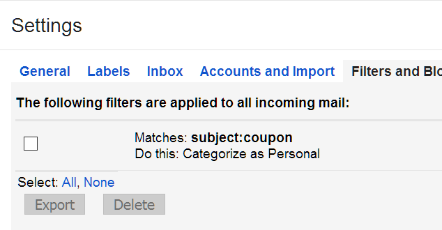 Automatically Move Gmail Messages from Promotions to Primary