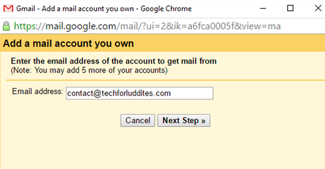 Send and Receive Non-Gmail Email from Gmail | Tech for Luddites