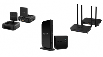 Nyrius Wireless Transmitter and Receiver Systems