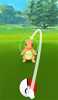 Pokémon GO: Throwing the Ball