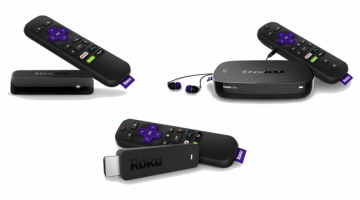 Roku Family of Streaming Media Players