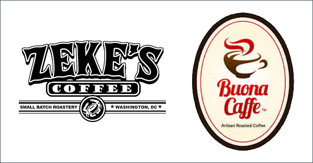 Zeke's Coffee of DC and Buona Caffe